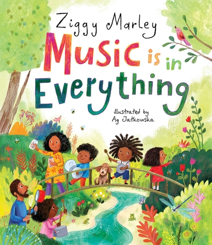 Music is in Everything - Book Cover Image